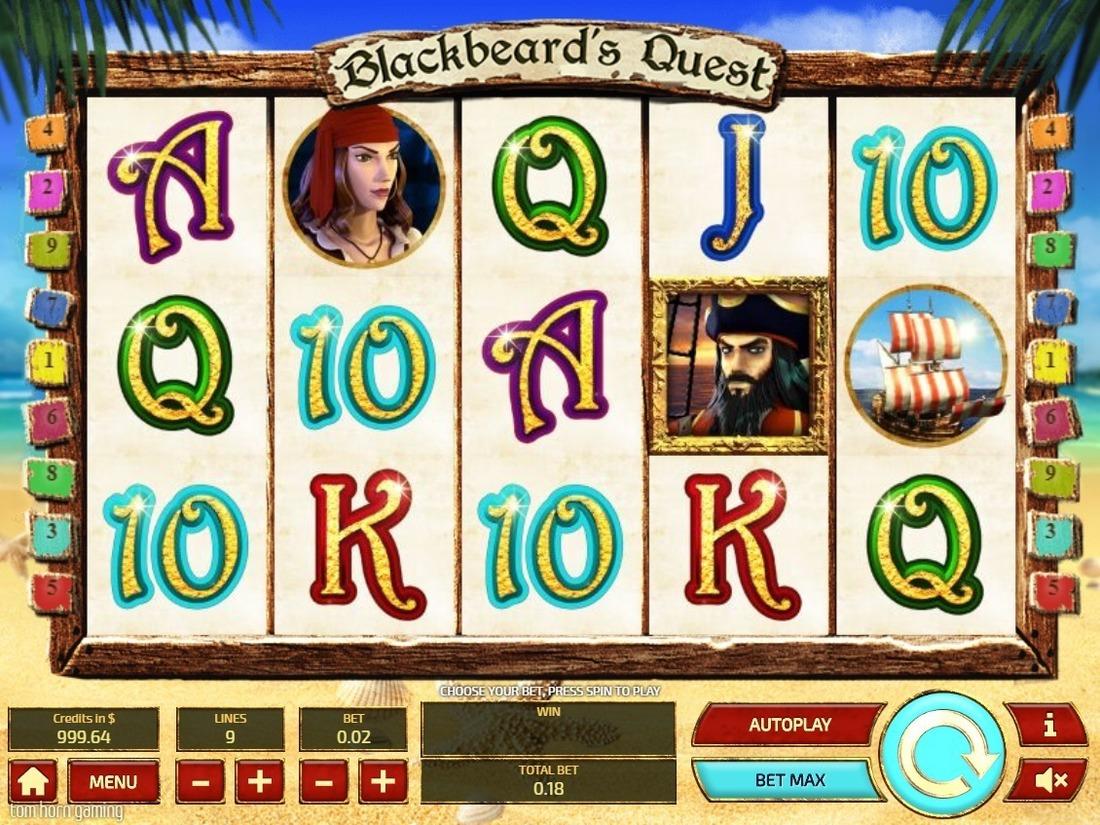 Игровой автомат black beard играть